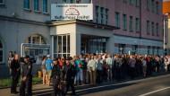 Tumulte bei Bürgerversammlung in Freital
