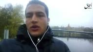 In einem am Freitag bekannt gewordenen Video schwor der in Mailand erschossene Terrorverdächtige Anis Amri der IS-Miliz die Treue.