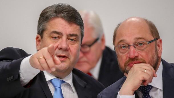 Lieber Schulz als Gabriel