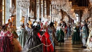 Edle Party im Schloss Versailles