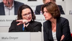 SPD fällt auf Allzeittief