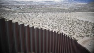 Blick nach Mexiko: Mauer zwischen Amerika und seinem südlichen Nachbarn