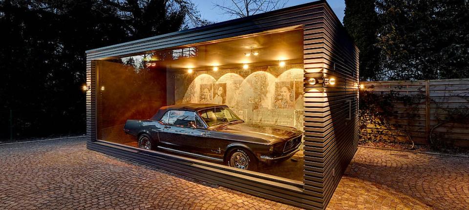Beliebt Garagen der besonderen Art KV26