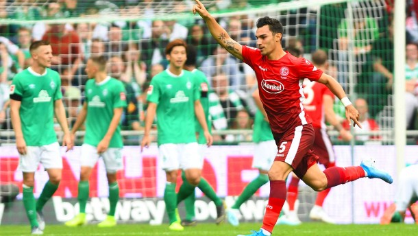 Düsseldorf startet furios ins zweite Bundesliga-Jahr