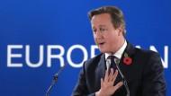 Cameron wettert gegen Milliarden-Nachforderung