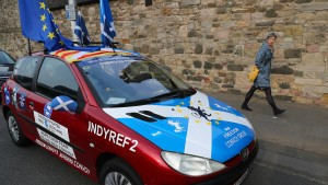 Schotten wollen zweite Chance für Unabhängigkeit