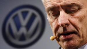 VW-Chef bittet in Amerika um Entschuldigung