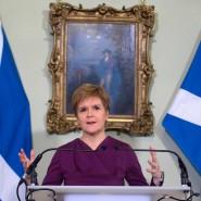 Will die Schotten aus dem Vereinigten Königreich lösen, um den Austritt aus der EU zu verhindern: Schottlands Regierungschefin Nicola Sturgeon
