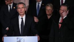 Nato-Chef warnt vor Russland