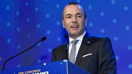 EVP wählt Weber zum Spitzenkandidaten