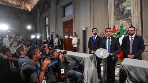 Fünf Sterne und Sozialdemokraten einigen sich