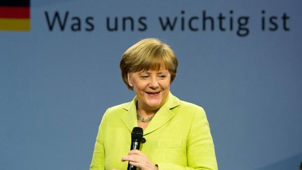 Merkel beim Bürgerdialog im Problemviertel
