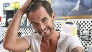 Mit neuem Kompass-Tattoo: Florian Silbereisen freut sich auf die Ferne.