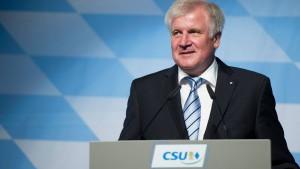 Seehofers 100-Prozent-Partei