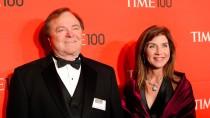 Harold Hamm mit seiner Frau 2012 in New York zur Kür der 100 einflussreichsten Leute der Welt. Waren sie noch zusammen oder nicht?