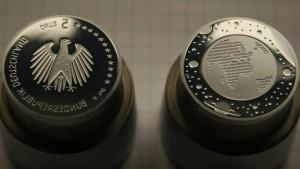 So werden Münzen fälschungssicher