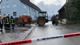 Polizei schießt auf flüchtenden Traktorfahrer
