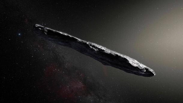 Forscher belauschen interstellaren Eindringling