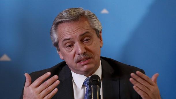 Argentinien verabschiedet Notstandsgesetz