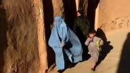 Afghanische Frauen in der Altstadt von Herat im Mai 2017