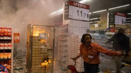 Proteste nach gewaltsamen Tod durch Security