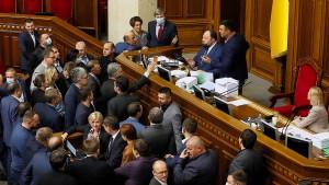 Ukrainisches Parlament beschließt Oligarchen-Gesetz