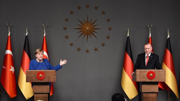 Machtspiel mit Erdogan