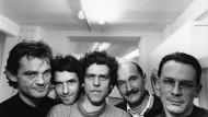 Die Mitglieder der Gruppe Pentagon (von links) Ralph Sommer, Wolfgang Laubersheimer, Reinhard Müller, Gerd Arens und Meyer Voggenreiter.