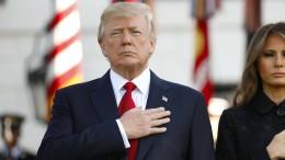 Trump gedenkt der Anschläge vom 11. September 2001