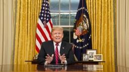 Trump bezeichnet Lage an Südgrenze als Sicherheitskrise