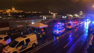 Tote bei Bootsunglück in Budapest