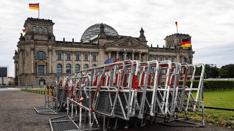 Der richtige Platz für politische Debatten: Der Deutsche Bundestag