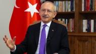 Solidarisch mit Erdogan: der Vorsitzende der größten türkischen Oppositionspartei, Kemal Kilicdaroglu