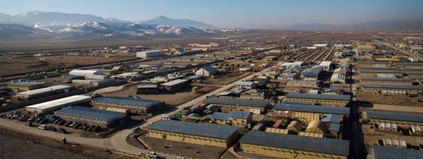 Unter deutschem Kommando: Blick auf das Feldlager Camp Marmal bei Mazar-I-Sharif