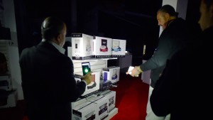Stromausfall legt Technik-Messe lahm