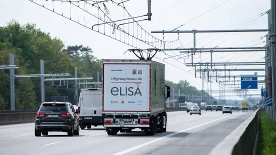 Hessen testet E-Highway