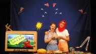 Geschichtenerzähler: Meital Raz und Keren Dembinsky aus Tel Aviv.