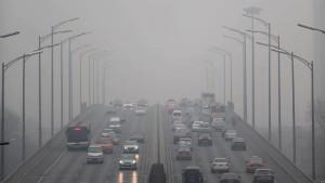 Zweithöchste Smog-Alarmstufe für 400 Millionen Menschen