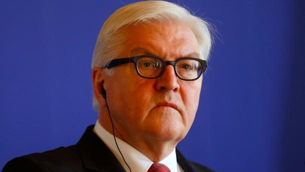 Steinmeier warnt vor Trump