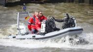 Wasserschutzpolizei übt für G-20-Gipfel mit Großaufgebot