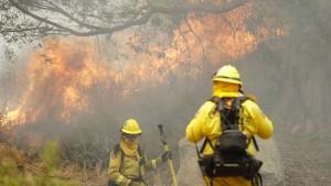 Kaliforniens Feuerwehr geht Geld für Brandbekämpfung aus