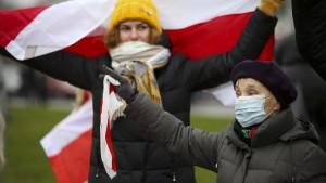 Wieder Massenproteste in Belarus