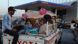 Massenflucht vor Terror des Islamischen Staats