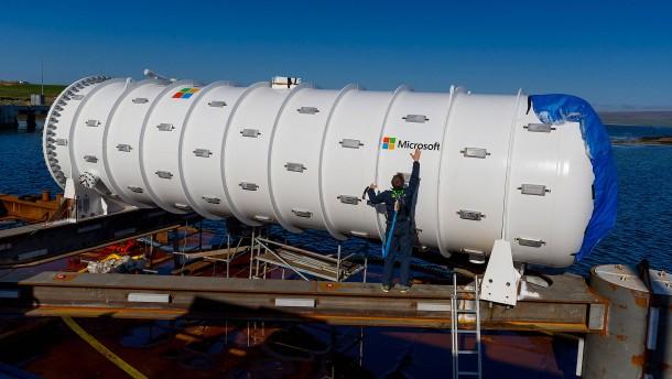 Microsoft versenkt Datenzentrum vor schottischer Küste