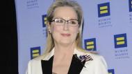 Meryl Streep setzt ein politisches Statement – mit einer Handtasche
