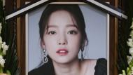 In Seoul gedenken Fans der Sängerin Goo Hara.
