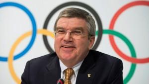 IOC-Präsident Bach kritisiert Politiker