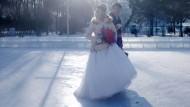 Hochzeit im Eis