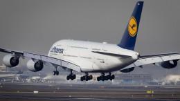 Lufthansa-Airbus muss über Atlantik umkehren