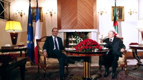 Hollande und Bouteflika